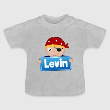 Levin Lidt Pirate Levin - Baby T-shirt