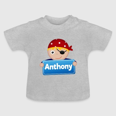 Anthony Lite Pirate Anthony - Baby-T-skjorte