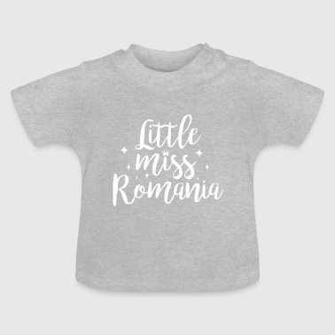 Little Italy Little miss Roemenië - Baby T-shirt