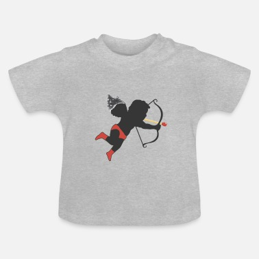 Cupido El Cupido svart Perfect Match - Baby-T-shirt