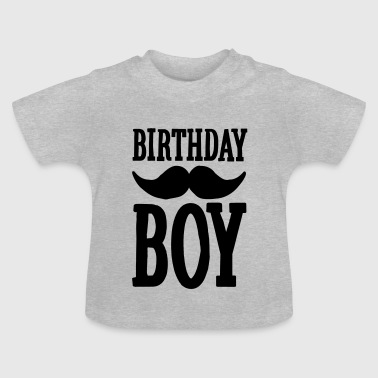 Birthday Boy Hipster - Baby T-shirt