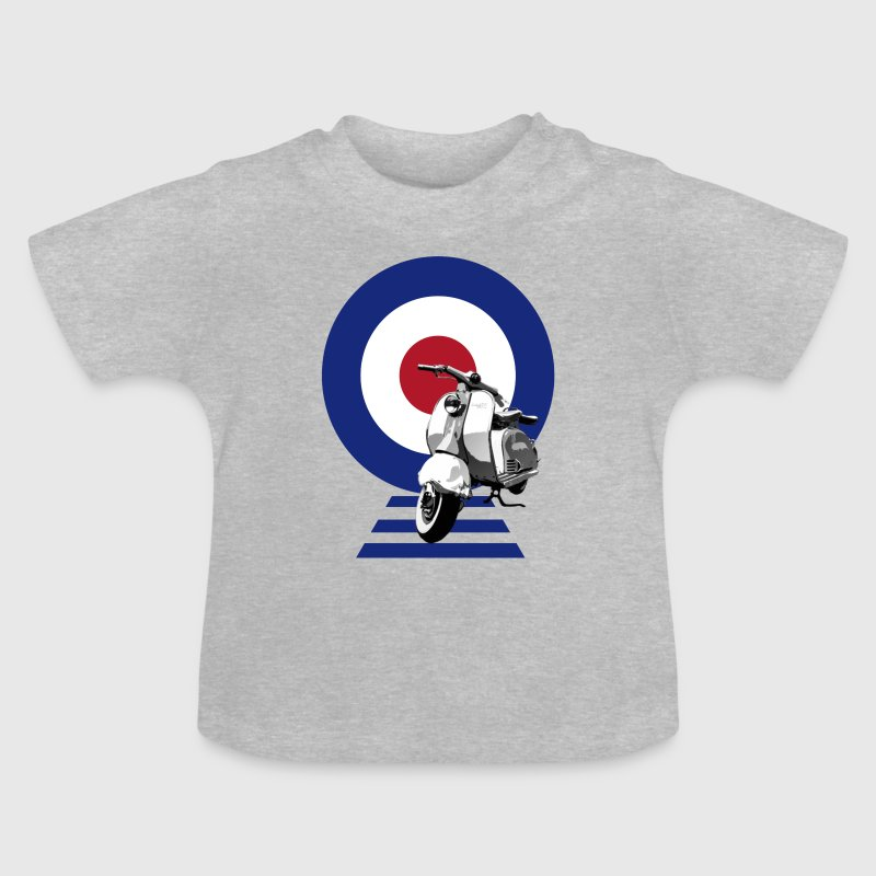 Mod Target Scooter - Baby T-Shirt