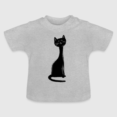 Happy cat - T-shirt Bébé