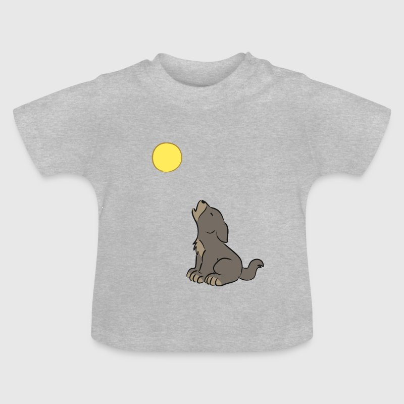 Howling Wolf Baby  - Baby T-Shirt