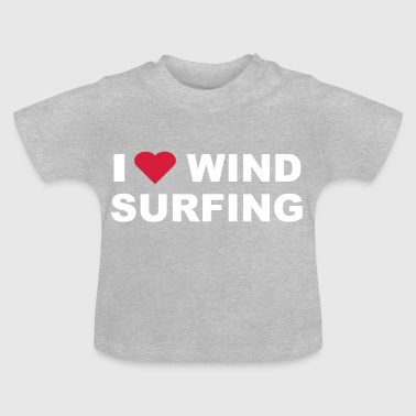 I love windsurfing - T-shirt Bébé