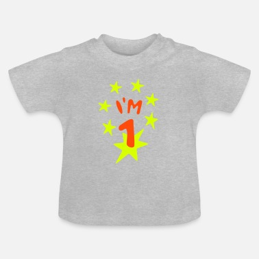 1. birthday - Baby T-Shirt