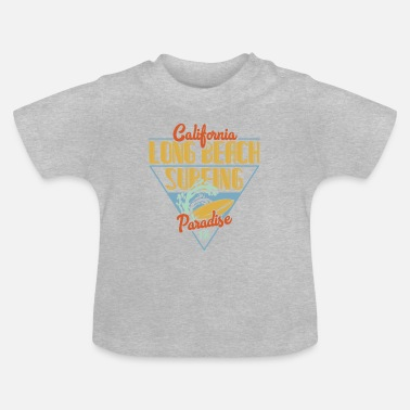 Long Beach Long Beach Surfing - Baby T-Shirt