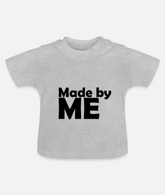 Made In Germany Baby Clothes - Made dy ME - Baby T-Shirt heather grey