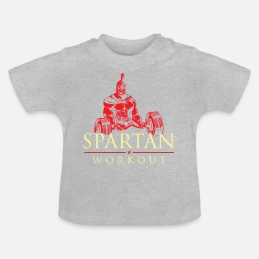 spartan workout - Baby T-Shirt