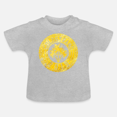 Golden Sands 2019 palms circle - Baby T-Shirt