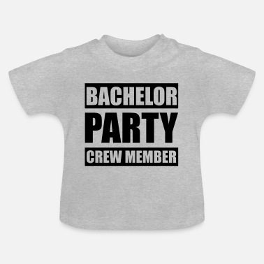 Stag Bachelor Party Crew - Stag do - Baby T-Shirt