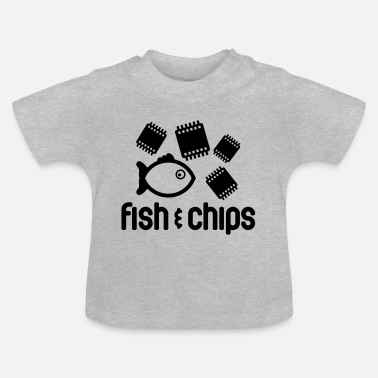 Fish Fish & Chips - Baby T-Shirt