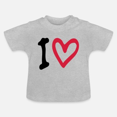 Tlc Love Heart - Baby T-skjorte