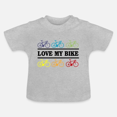 Bike Bike Love - Baby T-shirt