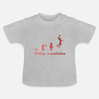 Volley Volley (r) evolution - Baby-T-shirt
