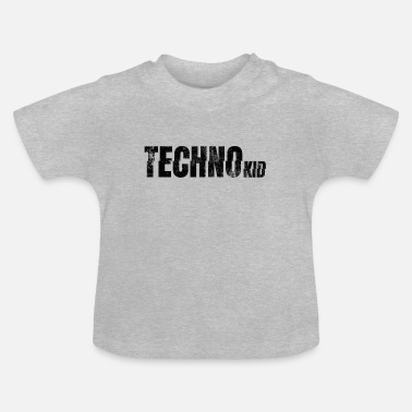techno kid kind raver festival club berlin szene - Baby T-Shirt