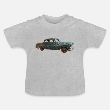 Vintage classic green car - Baby T-Shirt