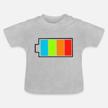 volle Batterie - Baby T-Shirt