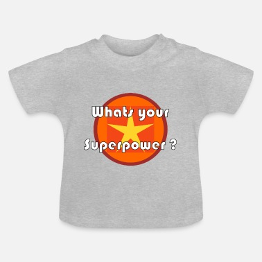 Supermagt supermagt - Baby T-shirt