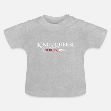 King&Queen Energy Liquid Logo Collection - Baby T-Shirt