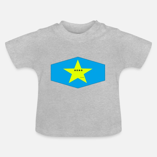 Cool Baby Clothes - hero - Baby T-Shirt heather grey