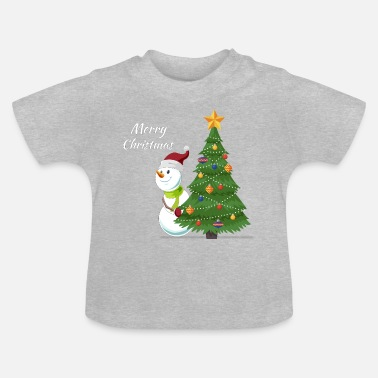 Affeto Merry Christmas - Baby T-Shirt