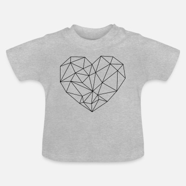 Heart Vector Heart Add to cart Vector Image - Baby T-Shirt