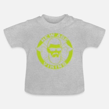New Age NEW AGE VIKING Green - Baby T-Shirt