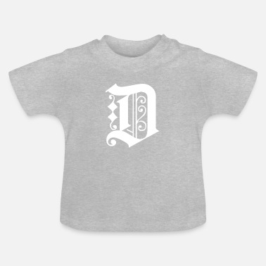 Graphic Art Detroit Tee Graphic - T-shirt baby