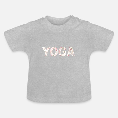 Health Yoga India Peace Health - T-shirt Bébé
