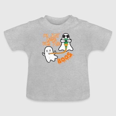 Ghost Beer Funnel Halloween Costume Cadeau amusant - T-shirt Bébé