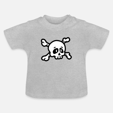 Crâne De Pirate T-shirt Pirate Crâne Pirate - T-shirt Bébé