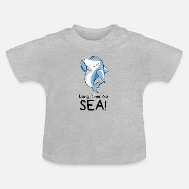 Cute Sayings For Kids Cute dolphin - kids and baby design - Baby T-Shirt