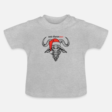 Anti anti-christus anti-kerst ANTI KERSTMIS - Baby T-shirt