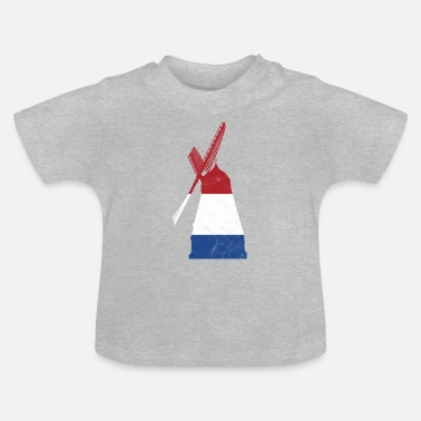 Windmolen Windmolen windmolen - Baby T-shirt