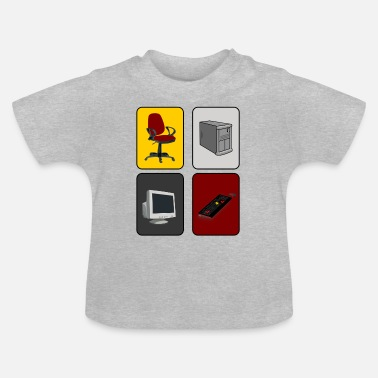 Pc PC-Zocker - Baby T-Shirt