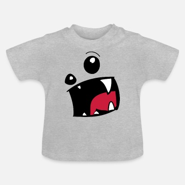 Tand Monster mun tand tand present - T-shirt baby