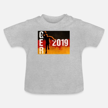 Handball Handball Deutschland WM 2019 WM Fan - Baby T-Shirt