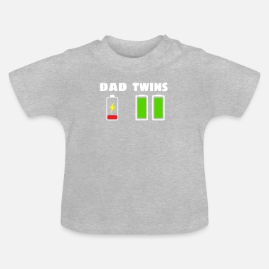 Twins Dad - Twins - Baby T-shirt