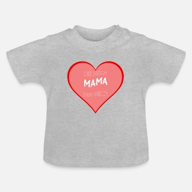 Officialbrands Best Mom Gift for Mother's Day - Baby T-Shirt