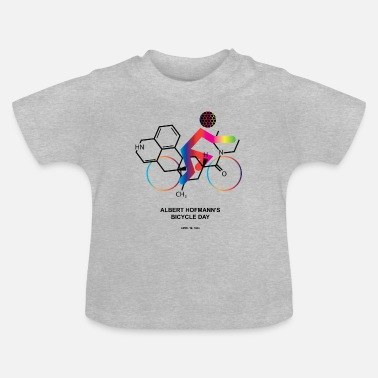 Albert Hofmann Albert Hofmann's Bicycle Day - Baby T-Shirt