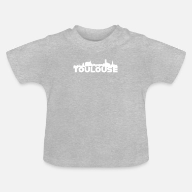 Germany Toulouse Germany Skyline Gift Idea - Baby T-Shirt