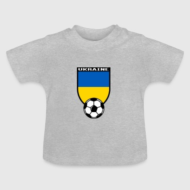 Fan De Foot Maillot de fan de foot Ukraine 2016 - T-shirt Bébé