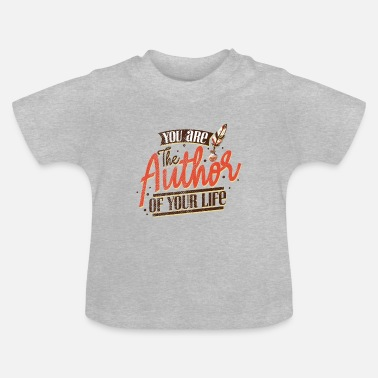 Author author author author books - Baby T-Shirt