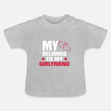 My Heart Belongs To My MY HEART BELONGS TO MY FRIEND! - Baby T-Shirt