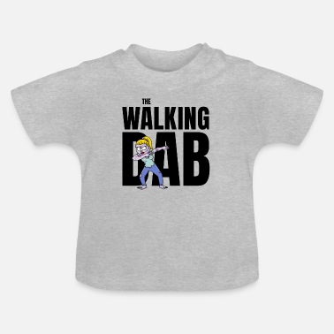 Zombie The Walking DAB Zombie Girl Dabbing Halloween sw - Baby T-Shirt