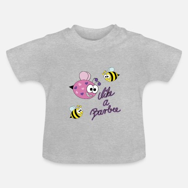 Spreadshirt Likes like a Barbee - Biene - Baby T-Shirt
