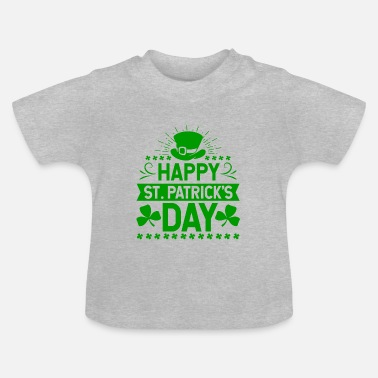 Happy St. Patrick's Day Ireland holiday gift - Baby T-Shirt