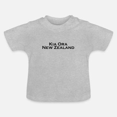 Kia Ora New Zealand black - Baby T-Shirt