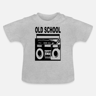 Old School old-school - Baby T-shirt